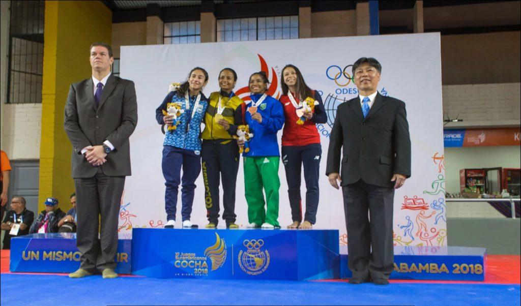 Inició lluvia de medallas doradas en Cochabamba, con gran aporte vallecaucano