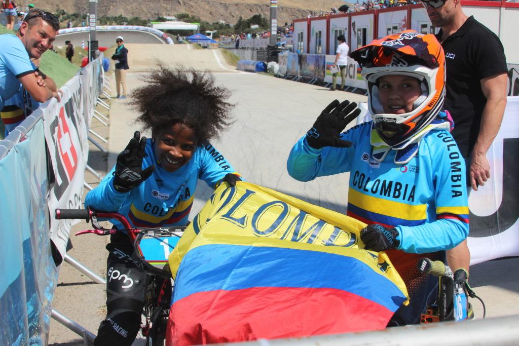 Guadalupe Palacios repitió título mundial de BMX, esta vez en Bakú