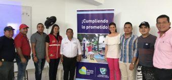 En Vijes se realizó la primera auditoria visible para la adecuación de la cancha sintética del barrio Piedra Grande