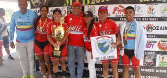 El ciclomontañismo del Valle volvió a escalar con la obtención de un nuevo título nacional