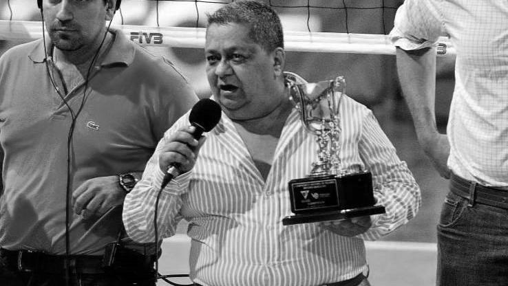 El deporte vallecaucano lamenta el fallecimiento de Carlos Grisales, presidente de la Federación Colombiana de Voleibol