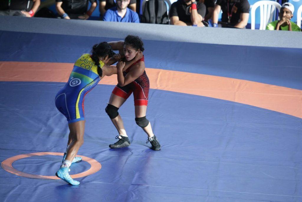 Carolina Castillo ganó oro para Colombia, en lucha