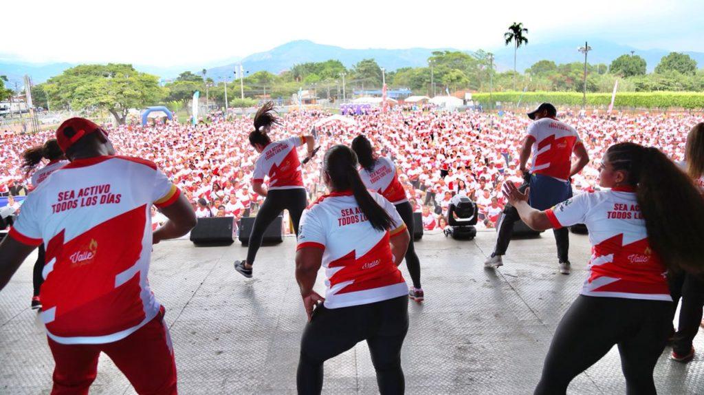 Vallecaucanos celebraron el Día Mundial de la Actividad Física en Cali