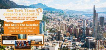 Colombia está de moda: aumenta calificación turística