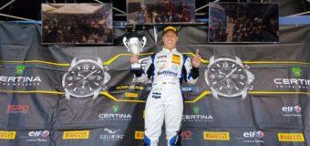 Oscar Tunjo consiguió la victoria en la segunda carrera del Campeonato Europeo de GT4 en el circuito de Nurburgring en Alemania
