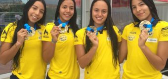 Nadadores Valle Oro Puro sumaron medallas mundiales de actividades subacuáticas