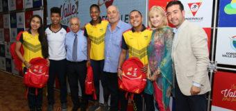 Colorido reconocimiento brindó el departamento a deportistas Valle Oro Puro destacados en los Centroamericanos 2018