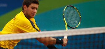 El tenista Valle Oro Puro Nicolás Mejía recibió su primera convocatoria oficial para jugar Copa Davis