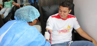 Campaña 'Gotas donadas, vidas salvadas' llega a Indervalle