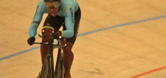 El ciclista vallecaucano Kevin Quintero, el juvenil nacional más destacado en la pista