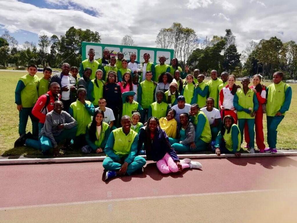 Valle retuvo el título del programa Talentos del Atletismo Colombiano
