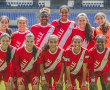¡Campeonas otra vez! Selección Valle Prejuvenil de fútbol femenino celebra título nacional
