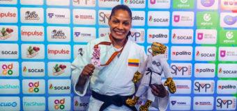 Judoca Valle Oro Puro Yuri Alvear se colgó el bronce en el Mundial de Judo en Bakú
