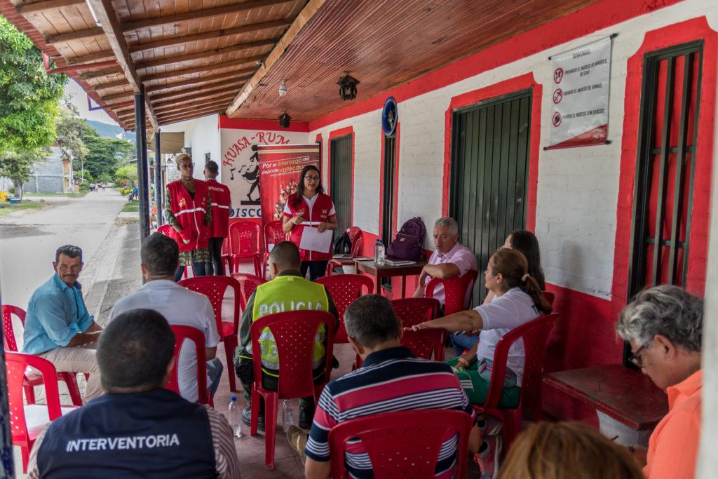 En Huasanó, corregimiento de Trujillo, gobierno departamental construirá un gimnasio biosaludable