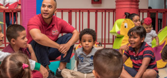 Indervalle y el Centro Comercial Palmetto Plaza se unen para llevar alegría a los niños con Psicomotricidad