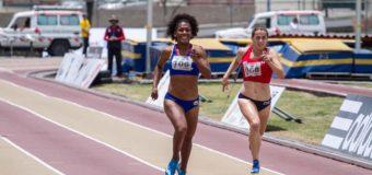 Valeria Araujo se coronó campeona suramericana de atletismo en Ecuador