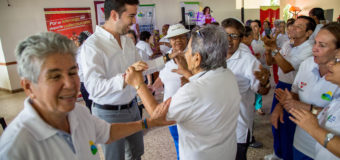 Adultos mayores de Cali celebraron su día con recreación y salud
