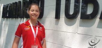 Manuela, inocencia detrás de una pistola: debutó con 12 años en Abierto Internacional de Tiro Paradeportivo