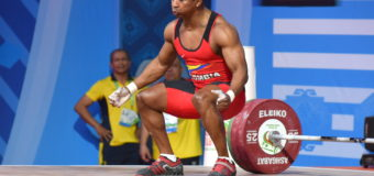 Óscar Figueroa logró un bronce en su regreso mundial