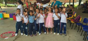 Con Psicomotricidad, Indervalle celebró el día de los niños en el departamento