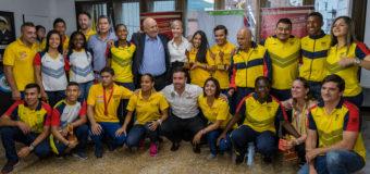 """""""Este es un reconocimiento a los logros históricos de nuestros deportistas"""": Gobernadora del Valle a medallistas de Juegos Olímpicos de la Juventud"""
