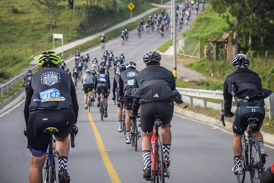 """Cientos de ciclistas rodarán en la Ruta Colombia """"El Valle Está en Vos 2018"""""""
