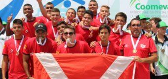 Valle Oro Puro se alza con el título del Nacional Interligas Sub16 de polo acuático