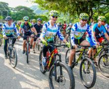 A Caicedonia llegará Rutas por la Paz este domingo, en la última ciclotravesía del año