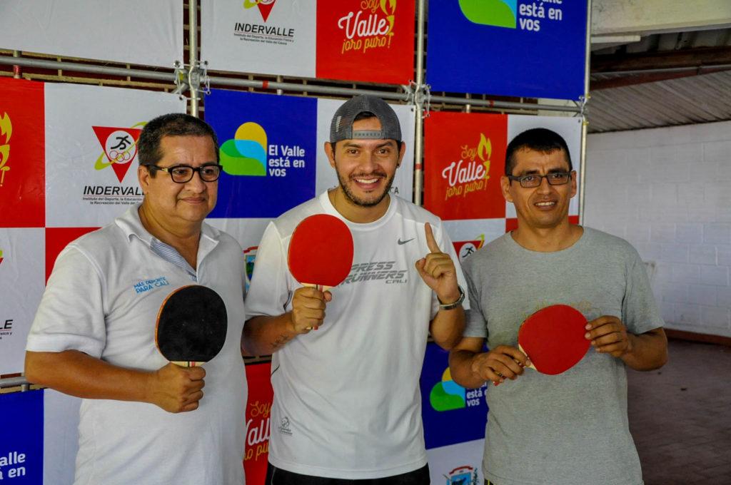 Los Juegos Intermedios Valle Oro Puro continúan este martes con tenis de mesa