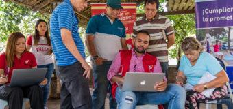 El equipo de auditorías visibles ciudadanas de Indervalle realizó la primera socialización de las obras para los barrios El Caney IV y El Caney Especial