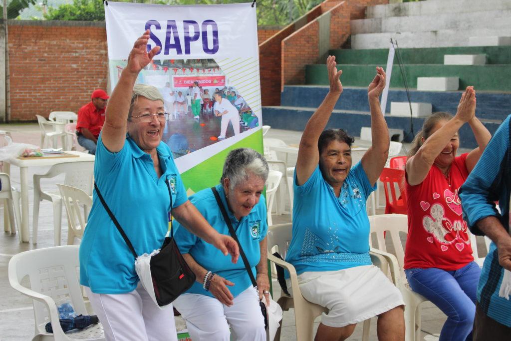Los Juegos del Adulto mayor se tomaron los municipios de Riofrío y Yotoco