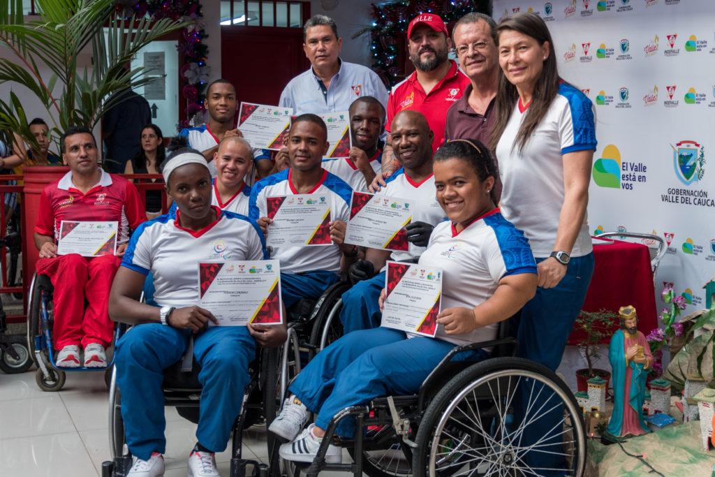 Deportistas paralímpicos y sordolímpicos del Valle, exaltados por su labor en los campos deportivos