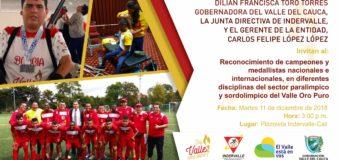 Deportistas que rompen barreras en el Valle del Cauca serán homenajeados