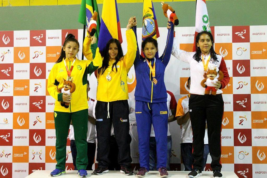 Valle Oro Puro ya suma medallas en los Juegos Sudamericanos Escolares de Arequipa