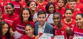 El polo acuático y el voleibol del Valle Oro Puro reconocidos por sus triunfos nacionales