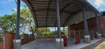 Zarzal ya cuenta con un renovado coliseo para la práctica de tejo, en el norte del Valle del Cauca