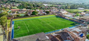 Gobernadora del Valle entregará cancha sintética de fútbol, en el corregimiento Borrero Ayerbe, en Dagua