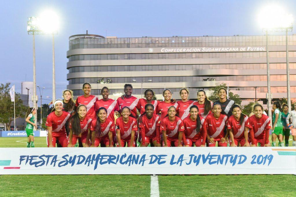 """""""Valle Oro Puro"""" sub-16, campeón de la Fiesta Sudamericana de la Juventud en Paraguay"""