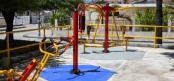El Barrio Libraida en el municipio de Zarzal, cuenta con un nuevo gimnasio biosaludable