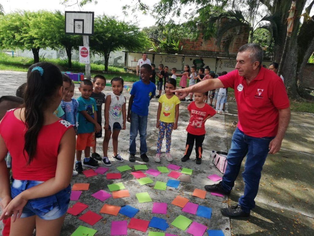 """""""Psicomotricidad a tu alcance """", continúa descentralizándose para beneficiar a más niños y niñas del Valle del Cauca"""
