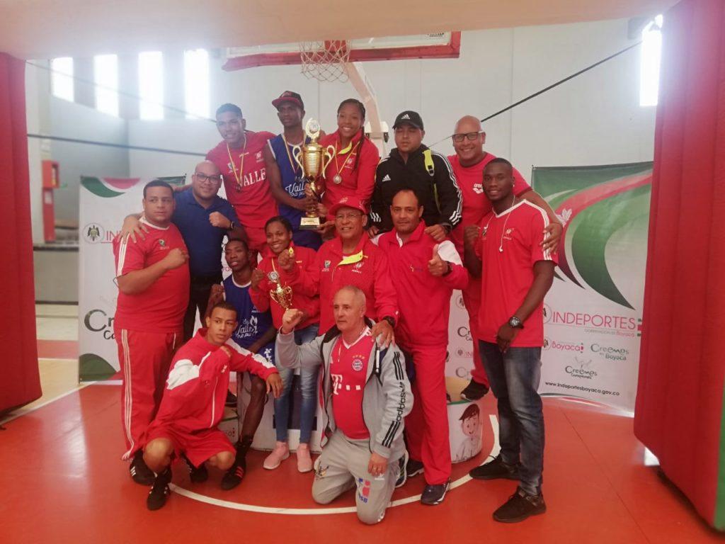 El Valle del Cauca ganó el Nacional de boxeo élite en Tunja