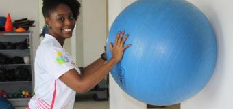 Una talentosa de la música, es especialista de fisioterapia deportiva en el Valle Oro Puro