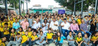 Estudiantes de Candelaria ya cuentan con un polideportivo para la realización de sus actividades deportivas