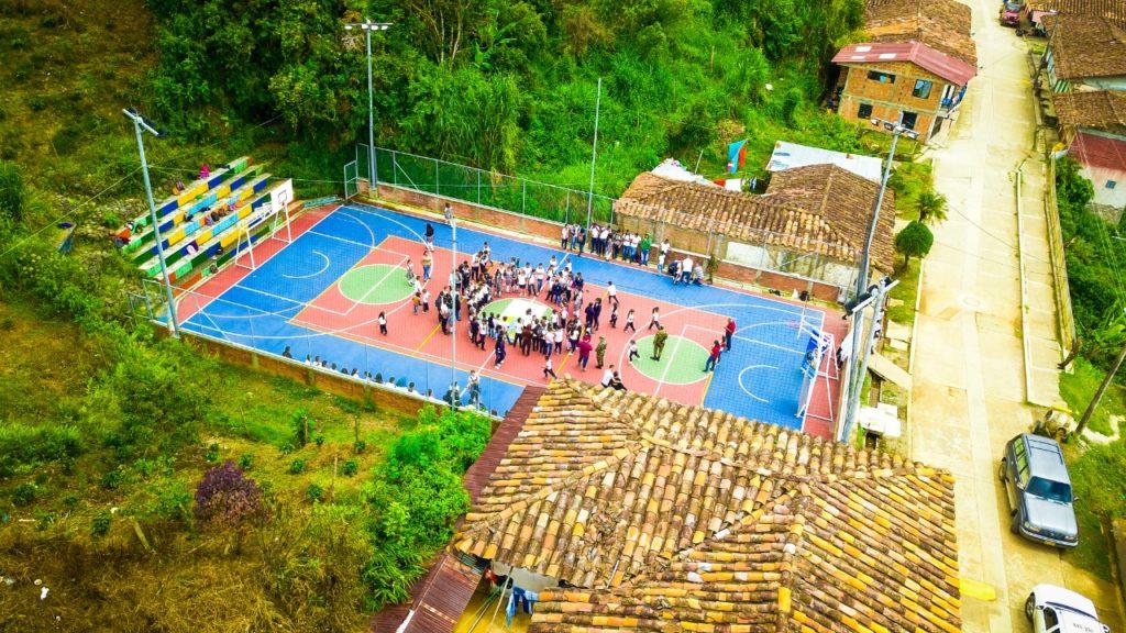 En El Águila, un nuevo escenario llega a impulsar el deporte y la recreación de sus habitantes