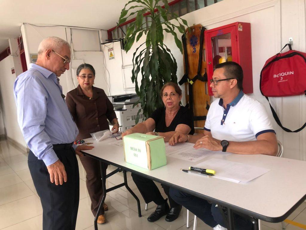 Indervalle realizó la elección del comité sanitario del sistema de gestión y seguridad en el trabajo