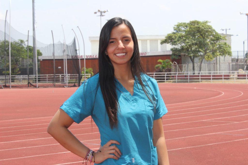 Natalia Giraldo, la profesional de la nutrición deportiva que sigue rodando tras sus sueños