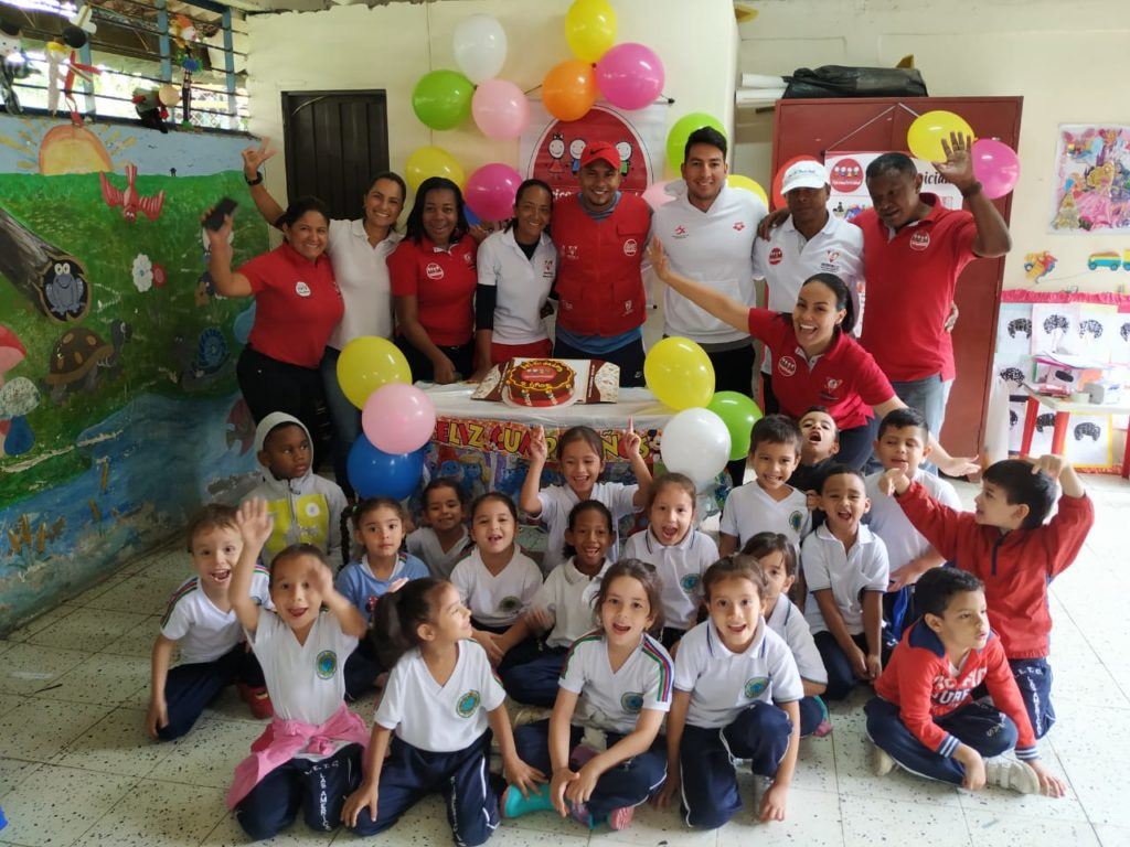 El programa Psicomotricidad, cumple 2 años regalando sonrisas a la primera infancia el Valle del Cauca