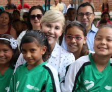 Corregimientos del municipio de Bolívar recibieron obras de infraestructura  recreo deportivas