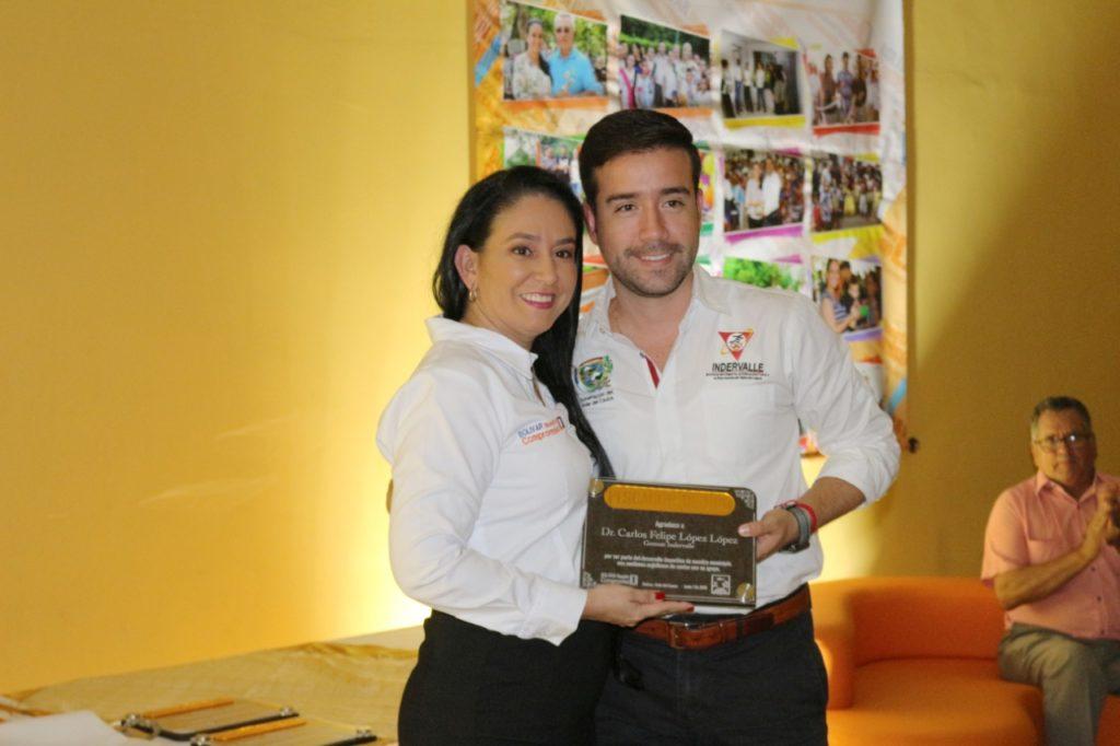 """La ceremonia de exaltación """"El pescador de oro"""" reconoció a lo mejor del deporte en el municipio de Bolívar"""