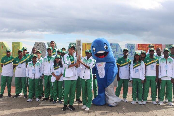 El Fuego deportivo llegó a Buenaventura y ya está listo para encender la ceremonia inaugural de los Juegos Departamentales y Paradepartamentales 2019
